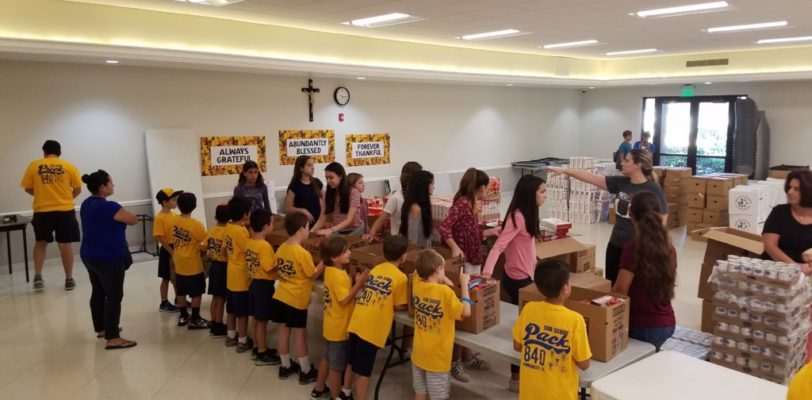 Thanksgiving Food Drive for the Poor Service Project